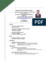 Curriculum Jorge Luis Palomino Dextre Para Ruli
