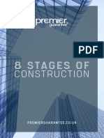 8 Stages of Construction