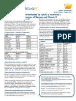 Fuentes Alimentarias de Calcio y Vitamina D - HealthLink BC
