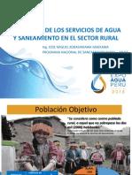 Situacion Ss Agua Saneamiento Sector Rural PNSR