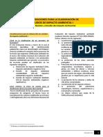 Lectura M10 - Consideraciones Para La Elaboración de Estudios de Impacto Ambiental I