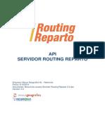 API Servidor Routing Reparto Es 3 3