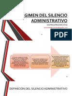 Regimen Del Silencio Administrativo.