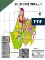 Mapa Zonificacion Carmen Alto
