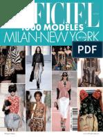 L'Officiel 1000 Modčles N 139 - Collections Mailan-New York Printemps-Eté 2014