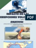 Impacto de Las Erupciones Volcánicas