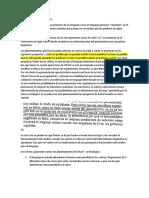 Pinker El Lenguaje Como Instinto
