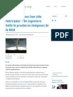 """""""Estos Huracanes Han Sido Fabricados""""- ...Ágenes de La NASA – Argentinatoday"""