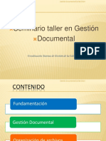 Gestión Documental y Agrupaciones Documentales