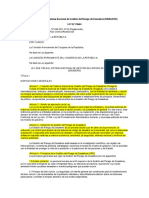 1.LEY 29664 Ley Que Crea El Sistema Nacional de Gestión Del Riesgo de Desastres
