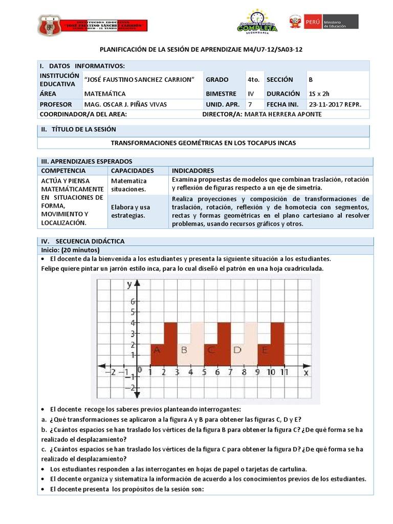 Contemporáneo Transformaciones De Las Hojas De Trabajo De Matemà ...