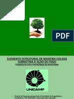 Análise Teórico-experimental de Vigas de Madeira Colada Submetidas (1)