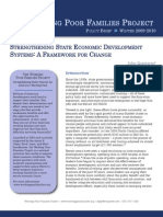 Strengthening State Economic Development Systems