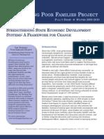 Strengthening State Economic Development Systems