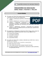 Os Pensadores Da Educacao - Vm Simulados E-book-50-2012