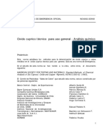 NCh0582-69 OXIDO DE ...
