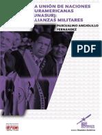 UNASUR - alianzas militares