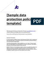ITDonut Sample DP Policy Template