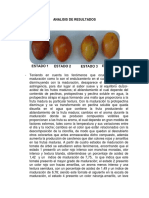 Informe Maduracion de Frutas