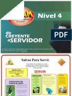 NIVEL 4. DE CREYENTE A SERVIDOR.pptx
