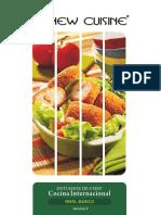 Estudios de Chef Internacional-la New Cuisine-curso Básico-guía de La Semana 9