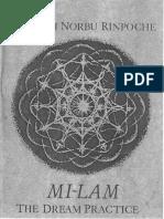 Milam Dream Practice Namkhai Norbu.pdf