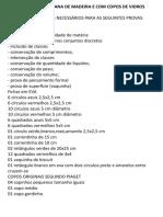 Maleta Piagetiana de Madeira e Com Copos de Vidros