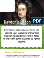 physic newtonsecond law