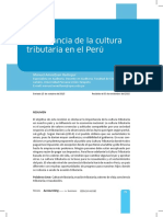 3 Cl - Importancia de La Cultura Tributaria en El Peru