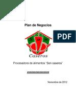 Plan de Negocios Conservas