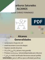 Alcanos Jorge Chavez