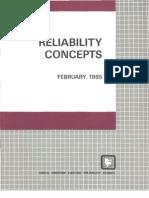 Reliability Concepts
