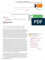 The Process Audit - Harvard Business Review(1)