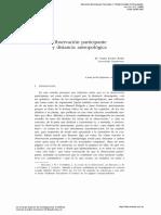 OBSERVACION PARTICIPANTE Y DISTANCIA ANTROPOLÓGICA 1999.pdf