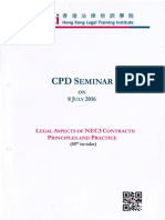 Legel Aspects of NEC3 Contracts_ Principles and Practice