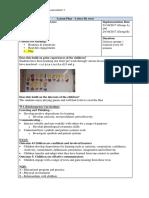lesson plan - letter fly swat - block week 1