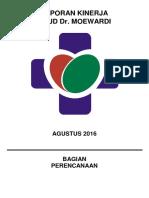 Kinerja Agustus 2016