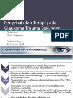 Elis - Traumatic Glaucoma Journal Mata .ppt