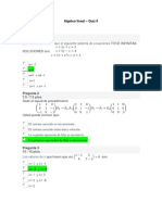 Algebra Lineal Examen Parcial