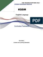 Secondary Curriculum Framework