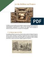 historia del teatro francés