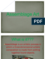 Assemblage art(Kristopher's report)
