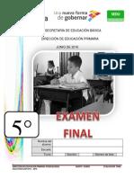 5_ Grado Examen Final 2015-2016