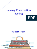 Railway Construction Testing