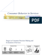 Consumer Behavior in Services
