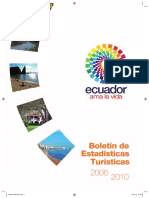 Boletin Estadisticas Turísticas MINTUR 2010