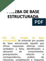 Cuestionario de Base Estructurada