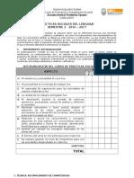 INSTRUMENTO DE EVALUACIÓN DE ASIGNATURA PSDL