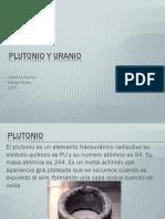 Plutonio y Uranio