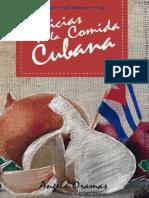 Delicias de La Cocina Cubana Angela Oramas Camero